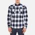 Levi's Men's Barstow Western Shirt - Ferula Dress Blues: Image 1