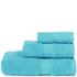 Restmor Knightsbridge 100% Egyptian Cotton 3 Piece Towel Bale Set (500gsm) - Aqua: Image 1