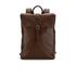 Ted Baker Men's Earth Leather Backpack - Dark Tan: Image 1