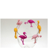 Flamingo Glass Charms: Image 2