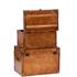 Luxury Leather Storage Trunks (Set of 2): Image 2