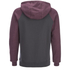 Animal Men's Jump Raglan Zip Through Hoody - Mauve Purple Marl: Image 2
