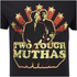Karate Kid Mens Muthas T-Shirt - Zwart: Image 5