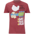 Woodstock Mens 3 Days of Peace T-Shirt - Heather Cardinal: Image 1
