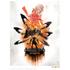 God Of War 'Monster' Art Print - 14 x 11: Image 1