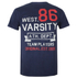 Varsity Team Players Men's West 86 T-Shirt - Navy: Image 1