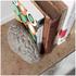 Lyon Beton Concrete Gray Matters Book Ends: Image 3