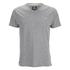 Threadbare Men's Charlie Plain V-Neck T-Shirt - Grey Marl: Image 1