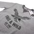 Cotton Soul Men's Free & Wild Sweatshirt - Grey Marl: Image 2