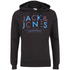 Jack & Jones Men's Core Noah Print Hoody - Black: Image 1