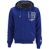Crosshatch Men's Clarkwell Borg Lined Zip Through Hoody - Mazarine Blue: Image 1