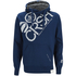 Crosshatch Men's Flashpoint Borg Lined Pull On Hoody - Estate Blue: Image 1