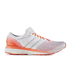 adidas Men's Adizero Boston 6 Running Shoes - White/Red: Image 1