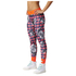 adidas Women's Stella Sport Print Training Tights - Blue/Pink: Image 2
