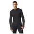 adidas Men's Supernova Long Sleeve Running T-Shirt - Black: Image 1