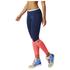 adidas Women's Stella Sport Long Mesh Training Tights - Blue/Pink: Image 2
