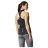 adidas Women's Sequencials Climalite Running Tank Top - Black: Image 3