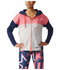 adidas Women's Stella Sport Full Zip Hoody - Red: Image 1