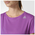 adidas Women's Sequencials Climalite Running T-Shirt - Purple: Image 4