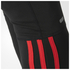 adidas Men's Response Long Running Tights - Black/Red: Image 5