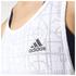 adidas Women's Lightweight Training Tank Top - White: Image 4