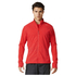 adidas Men's Supernova Storm Running Jacket - Red: Image 1