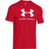 Under Armour Men's Sportstyle Logo T-Shirt - Red/Steel/White: Image 1