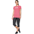 Under Armour Women's Favorite Big Logo Short Sleeve T-Shirt - Knock Out: Image 3