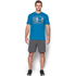 Under Armour Men's Stack Attack Short Sleeve T-Shirt - Brilliant Blue: Image 3