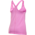 Under Armour Women's HeatGear Armour Racer Tank - Verve Violet/Metallic Silver: Image 2