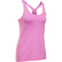Under Armour Women's HeatGear Armour Racer Tank - Verve Violet/Metallic Silver: Image 1