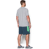 Under Armour Men's Stack Attack Short Sleeve T-Shirt - True Grey Heather: Image 5