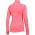 Under Armour Women's ColdGear Armour 1/2 Zip Long Sleeve Shirt - Brilliance Pink: Image 2