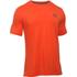 Under Armour Men's Sportstyle Left Chest Logo T-Shirt - Dark Orange/Nova Teal: Image 1