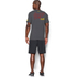 Under Armour Men's Retro Flash Short Sleeve T-Shirt - Carbon Heather: Image 5