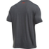 Under Armour Men's Sportstyle Logo T-Shirt - Carbon Heather/White/Dark Orange: Image 2