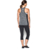 Under Armour Women's Colorblock Tech Tank - Black: Image 5