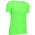 Under Armour Women's HeatGear Armour Short Sleeve T-Shirt - Lime Light: Image 1