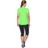 Under Armour Women's HeatGear Armour Short Sleeve T-Shirt - Lime Light: Image 5