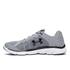 Under Armour Men's Micro G Assert 6 Running Shoes - Steel/White/Black: Image 3