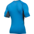 Under Armour Men's Armour HeatGear Short Sleeve Training T-Shirt - Brilliant Blue/Stealth Grey: Image 2