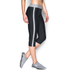Under Armour Women's HeatGear Sport Capri Tights - Black/True Grey Heather: Image 3