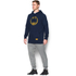 Under Armour Men's Retro Batman Triblend Hoody - Navy: Image 4