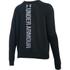Under Armour Women's Favourite Fleece Crew Sweatshirt - Black: Image 2