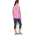 Under Armour Women's Favorite Big Logo Short Sleeve T-Shirt - Verve Violet: Image 5
