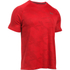 Under Armour Men's Jacquard Tech Short Sleeve T-Shirt - Red: Image 1