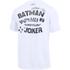 Under Armour Men's Retro Batman Short Sleeve T-Shirt - White: Image 2