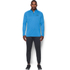 Under Armour Men's Tech 1/4 Zip Long Sleeve Top - Brilliant Blue/Stealth Grey: Image 3