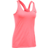 Under Armour Women's HeatGear Armour Racer Tank - Brilliant Pink/Metallic Silver: Image 1