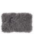 Broste Copenhagen Tibetan Sheepskin Cushion - Smoked Pearl: Image 1